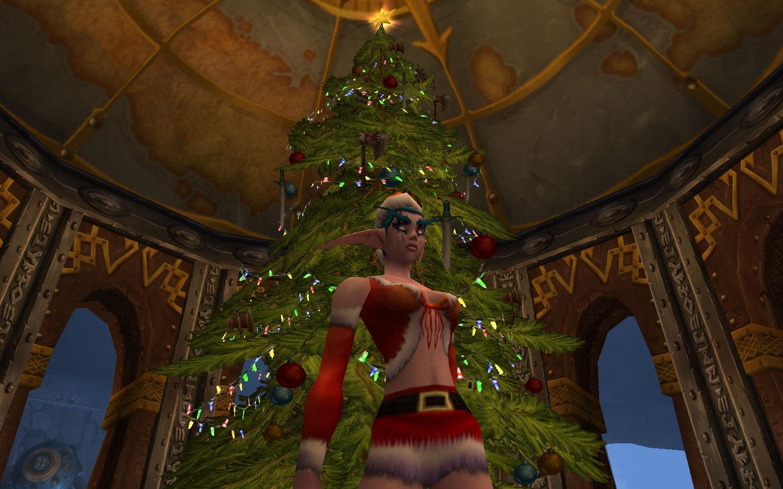 christmas 2007 - World Of Warcraft Christmas